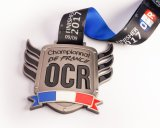 Hot Sale Custom émail doux Sport médaillon Médaille d'or de métal