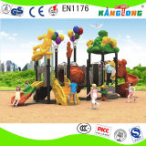 아이를 위한 다채로운 옥외 운동장 아이들 상호 작용 장난감 위락 공원 활주
