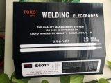 De Elektroden van het Lassen van het lage Koolstofstaal E6013 voor Lassen in Al Positie
