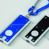 La mejor calidad Llavero Mini Linterna de aluminio para regalo promocional