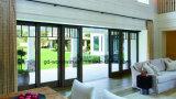 Schuifdeur van het Glas van Woodwin de Binnenlandse of BuitenAluminium Aangemaakte