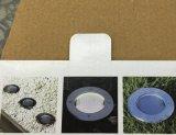 La energía solar suelo Muestra gratuita al aire libre nuevo LED resistente al agua subterránea de la energía de luz para patio cochera césped Pathway Home Villa Jardín de la carretera de la calle fábrica vender