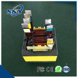 Série ee haute fréquence pour carte à circuit imprimé du transformateur de puissance (EE8020-830uH)
