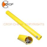 Les marqueurs de PE Plastique PVC Guy / tuyau d'avertissement pour le signe d'avertissement Pole
