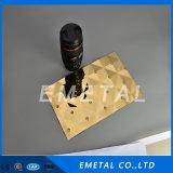 Strato dell'acciaio inossidabile di colore 4*8 dell'oro per la decorazione
