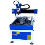 Grabado en metal Mini Máquina Router CNC 6090 con el eje de rotación