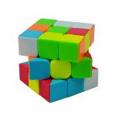 Onderwijs Plastic ABS van het Stuk speelgoed roteerden het Promotie Aangepaste Raadsel Magische Cube&#160 van het Beeld;
