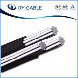 solido concentrico del conduttore di Areial ABC/AAC/ACSR del cavo di energia elettrica di 0.6kv/1kv/36kv PVC/XLPE/PVC