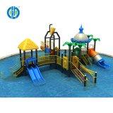 К услугам гостей бассейн на открытом воздухе детей пластиковые водные горки детская площадка оборудование