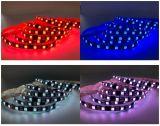 IP44 PCB negro RGB LED SMD5050 tira la luz con garantía de 2 años