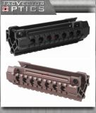 Vector Optics H&K MP5 Tri Rails Tactical One Piece Compact Aluminum Handguard Rail Mount pour le Laser Scope