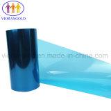 25um/36um/50um/75um/100um/125um泡の裏付けのためのシリコーン油が付いている青いペットはく離ライナー