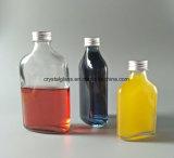 100ml 200ml 350ml Eau minérale plate de bouteilles en verre bouteille en verre de jus d'emballage d'alcool