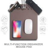Los cargadores de teléfonos móviles Antideslizante almohadilla de ratón de carga inalámbrica Qi cargador