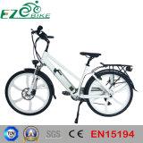 전시 전기 숙녀 전기 자전거를 가진 36V 10.4ah Li 이온 건전지