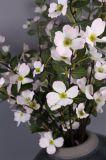 人工花、人工的な水気が多い花、擬似セイヨウカリンの花