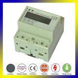 Одна фаза электронных Квтч Modbus домашних хозяйств по стандарту DIN энергии дозатора