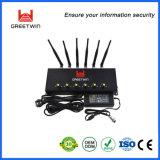 De regelbare Stoorzender van het Signaal van de Telefoon van de Cel van 6 Banden, GSM CDMA Blocker van het Signaal van PCs 3G 4G