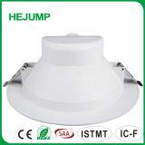 10W IP44 Plastic Bekleed Aluminium Binnen Vlakke LEIDENE Downlight