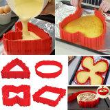 Moule à cake en silicone moule à gâteau moule de cuisson de bricolage de serpent