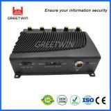 Emittente di disturbo portatile da tavolino di WiFi del telefono delle cellule di CC 5V, 12 emittente di disturbo registrabile del segnale di watt 2.4G GPS