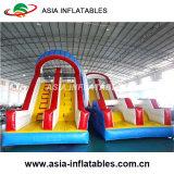 Obstáculos insufláveis gigantes e coloridas incrível corrida de obstáculos