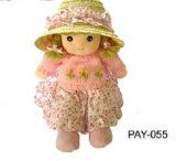 Тряпичная кукла, ткань, мягкая кукла кукла(платить-055)