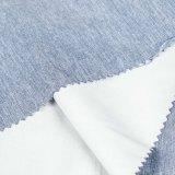 Tessile di riserva 100% del tessuto di maglia della maglietta del poliestere del lotto