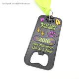 Caballo de venta al por mayor baratos Lake Trail Tuns Half-Marathon medalla de metal
