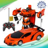 2 en 1 modèle de voiture Robot rc jouet de la transformation de la déformation de la batterie Sports Robots Jouets cadeaux pour les enfants