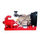 Centrífuga Horizontal multietapa Motor Diesel de alto jefe de la bomba de agua