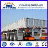 3개의 차축 대량 화물 트랙터 옆 널 또는 측벽 또는 담 또는 반 측벽 트레일러