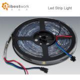 indicatore luminoso di striscia dei pixel DC12V RGB DMX512 IP65 SMD di 32PCS/M LED 12W 16
