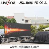 P3.9/4,8 Leve o LED de exterior do painel de parede de vídeo para o caso de bicicleta