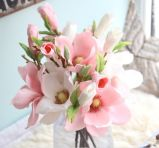 Искусственные цветы на свадебное оформление