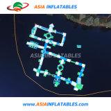 Nouveau parc aquatique géant gonflable flottante Équipement de jeu
