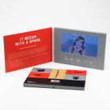 De hete Verkopende LCD TFT van 7 Duim VideoKaart van de Groet/VideoAdreskaartje/VideoBrochure