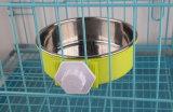 Aço inoxidável coloridos e Multi-Size Taça de Pet para cães e gatos