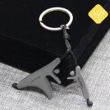 卸し売り安いカスタムNypdの印刷の金属の昇進車Keychain