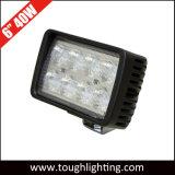 EMC aprobado 6 pulgadas cuadradas de 40W LED CREE las luces de la carretilla
