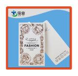 Ropa de moda Hangtag personalizado con cuerda de algodón blanco