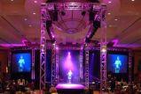 Colore completo di pubblicità dell'interno P5 LED del centro commerciale