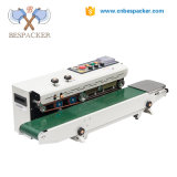 Bespacker FRD-1000C de la banda continuo automático de la lámina de aluminio PVC polietileno selladora de bolsa de plástico el calor con el recuento de la máquina de sellado