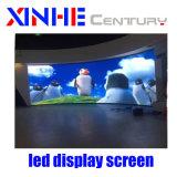 A todo color en exteriores o interiores Alquiler publicidad signo fijo de pared de vídeo LED pantalla LED