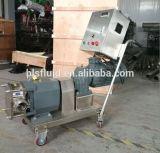 Contrôle de la vitesse de la pompe à lobes rotatifs en acier inoxydable avec chariot