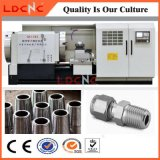 Máquina de torno de rosca de tubo de CNC de alta precisión para petróleo y gas