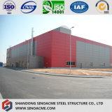 Helle Stahlkonstruktion für Werkstätten