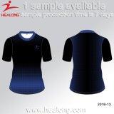 販売のためのHealongの人のスポーツ・ウェア3Dの昇華印刷のTシャツ