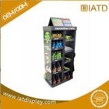 시계 마분지 Exhbition 케이크 POS/Medicine/Snack/Toys/Foods/Drink/Battery를 위한 장식용 우산 진열대를 갑자기 나타나십시오