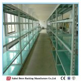 Estante de poca potencia de acero modificado para requisitos particulares de Boltless para el almacenaje del almacén